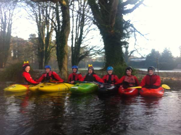 Kayakers Ireland