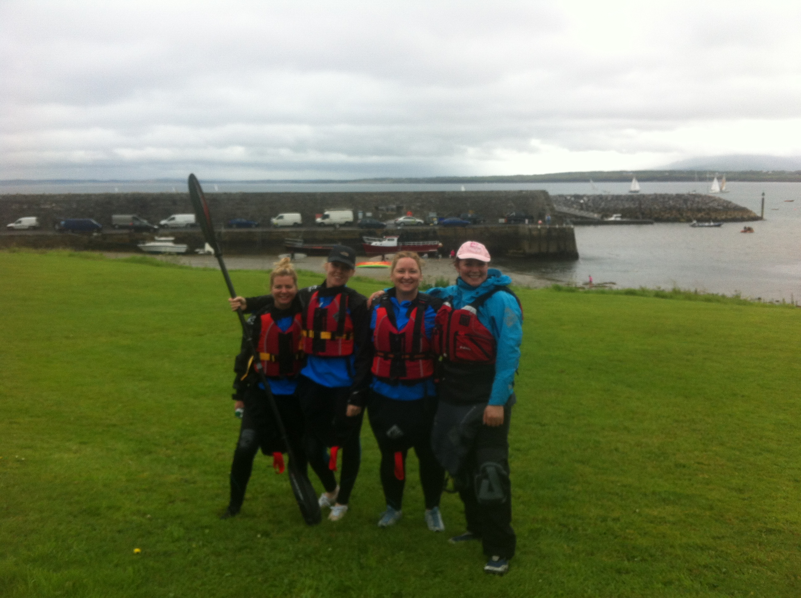 The Dublin crew on the Wild Atlantic Way at Mullaghmore